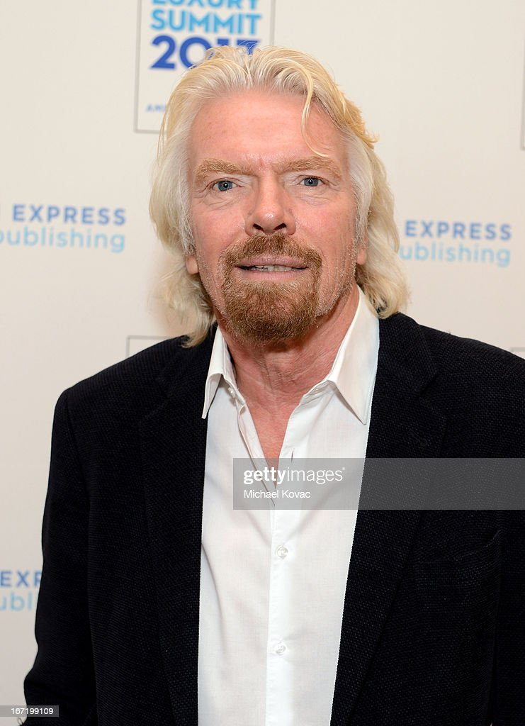 Sir <a gi-track='captionPersonalityLinkClicked' href=/galleries/search?phrase=Richard+Branson&family=editorial&specificpeople=220198 ng-click='$event.stopPropagation()'>Richard Branson</a> attends The American Express Publishing Luxury Summit 2013 at St. Regis Monarch Beach Resort on April 22, 2013 in Dana Point, California.