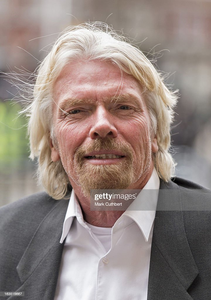 Sir Richard Branson attends The Commonwealth Day Observance At Westminster Abbey on March 11, 2013 in London, England.