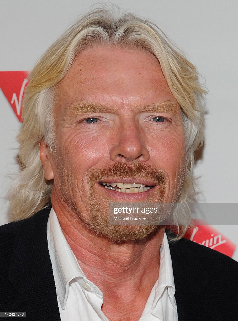 Sir <a gi-track='captionPersonalityLinkClicked' href=/galleries/search?phrase=Richard+Branson&family=editorial&specificpeople=220198 ng-click='$event.stopPropagation()'>Richard Branson</a> attends the Launch Party for Virgin America's First Flight from Los Angeles to Philadelphia at the Hotel Palomar on April 4, 2012 in Philadelphia, Pennsylvania.