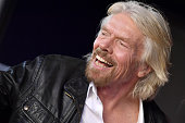 Sir Richard Branson Honored With Star On The Hollywood...