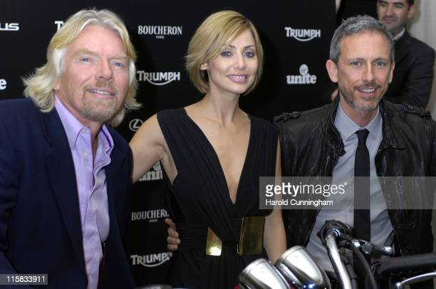 Sir Richard Branson Natalie Imbruglia and Patrick Cox
