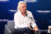 """Sir Richard Branson Participates In A SiriusXM """"Town..."""