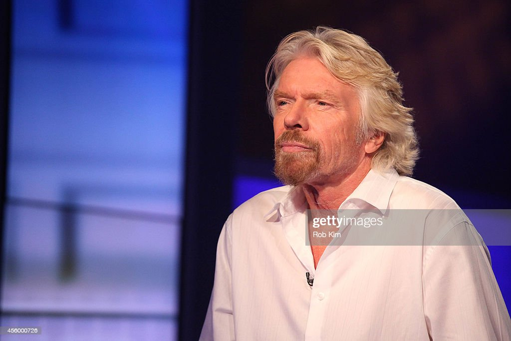 Sir <a gi-track='captionPersonalityLinkClicked' href=/galleries/search?phrase=Richard+Branson&family=editorial&specificpeople=220198 ng-click='$event.stopPropagation()'>Richard Branson</a> visits 'Cavuto' On FOX Business Network at FOX Studios on September 23, 2014 in New York City.