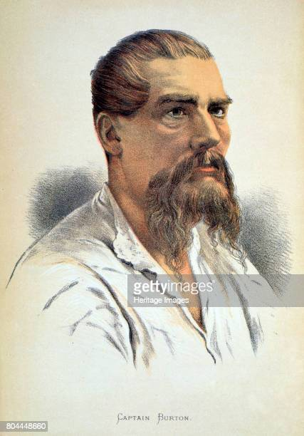 Sir Richard Francis Burton British explorer late 19th century Burton's extensive travels included a journey to Mecca disguised as a Pathan and an...