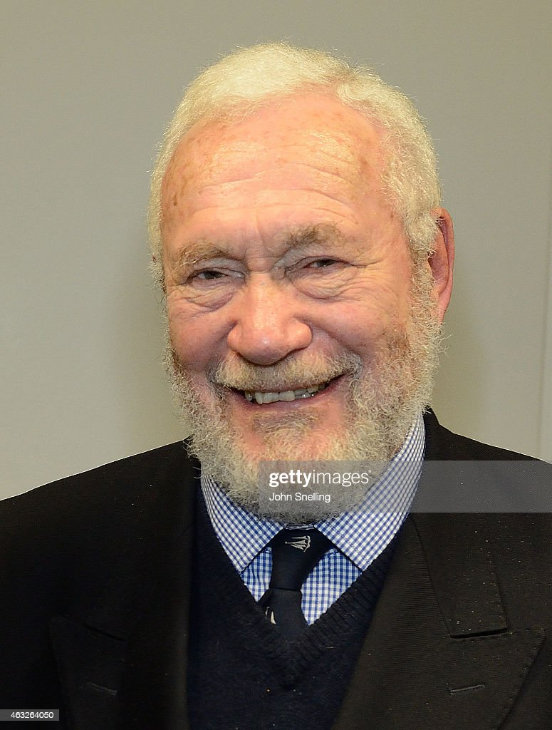 <a gi-track='captionPersonalityLinkClicked' href=/galleries/search?phrase=Sir+Robin+Knox-Johnston&family=editorial&specificpeople=2821245 ng-click='$event.stopPropagation()'>Sir Robin Knox-Johnston</a> attends a celebration of the life and career of Sir Chris Bonington 'My climbing life' at Royal Geographical Society on February 11, 2015 in London, England.
