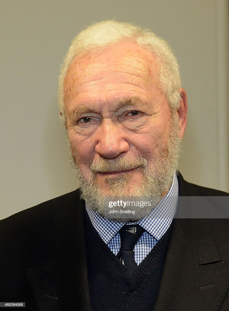 <a gi-track='captionPersonalityLinkClicked' href=/galleries/search?phrase=Sir+Robin+Knox-Johnston&family=editorial&specificpeople=2821245 ng-click='$event.stopPropagation()'>Sir Robin Knox-Johnston</a> enter caption here at Royal Geographical Society on February 11, 2015 in London, England.