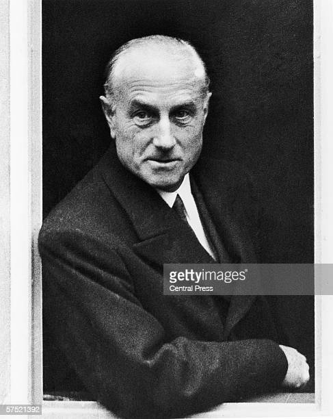 Sir Samuel Hoare 1st Viscount Templewood British Secretary of State for India and future Foreign Secretary 16th November 1934