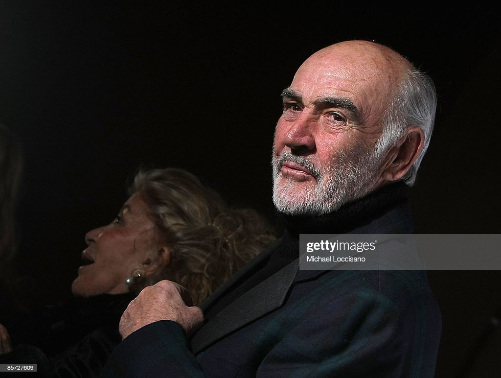 sir sean connery and lady connery attend the dressed to kilt charity picture id85727609