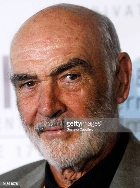 Sir Sean Connery attends the Johnny Depp tribute during the 6th Annual Bahamas International Film Festival at Atlantis Paradise Island on December 13...
