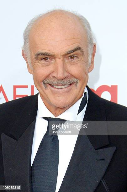 Sir Sean Connery during 34th Annual AFI Lifetime Achievement Award A Tribute to Sean Connery Arrivals at Kodak Theatre in Hollywood California United...
