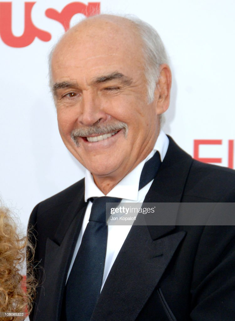 Sir <a gi-track='captionPersonalityLinkClicked' href=/galleries/search?phrase=Sean+Connery&family=editorial&specificpeople=201589 ng-click='$event.stopPropagation()'>Sean Connery</a> during 34th Annual AFI Lifetime Achievement Award: A Tribute to <a gi-track='captionPersonalityLinkClicked' href=/galleries/search?phrase=Sean+Connery&family=editorial&specificpeople=201589 ng-click='$event.stopPropagation()'>Sean Connery</a> - Arrivals at Kodak Theatre in Hollywood, California, United States.