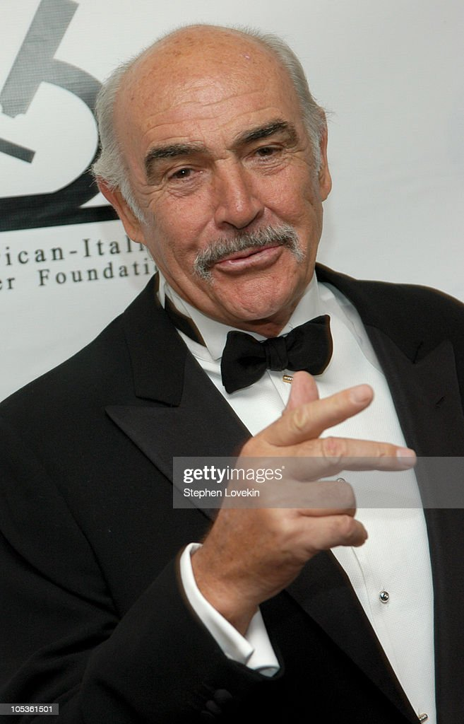 Sir Sean Connery during American-Italian Cancer Foundation Annual Benefit Gala at The Pierre Hotel in New York City, New York, United States.