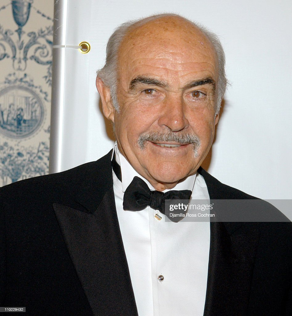 Sir <a gi-track='captionPersonalityLinkClicked' href=/galleries/search?phrase=Sean+Connery&family=editorial&specificpeople=201589 ng-click='$event.stopPropagation()'>Sean Connery</a> during American-Italian Cancer Foundation Gala at The Pierre Hotel in New York City, New York, United States.