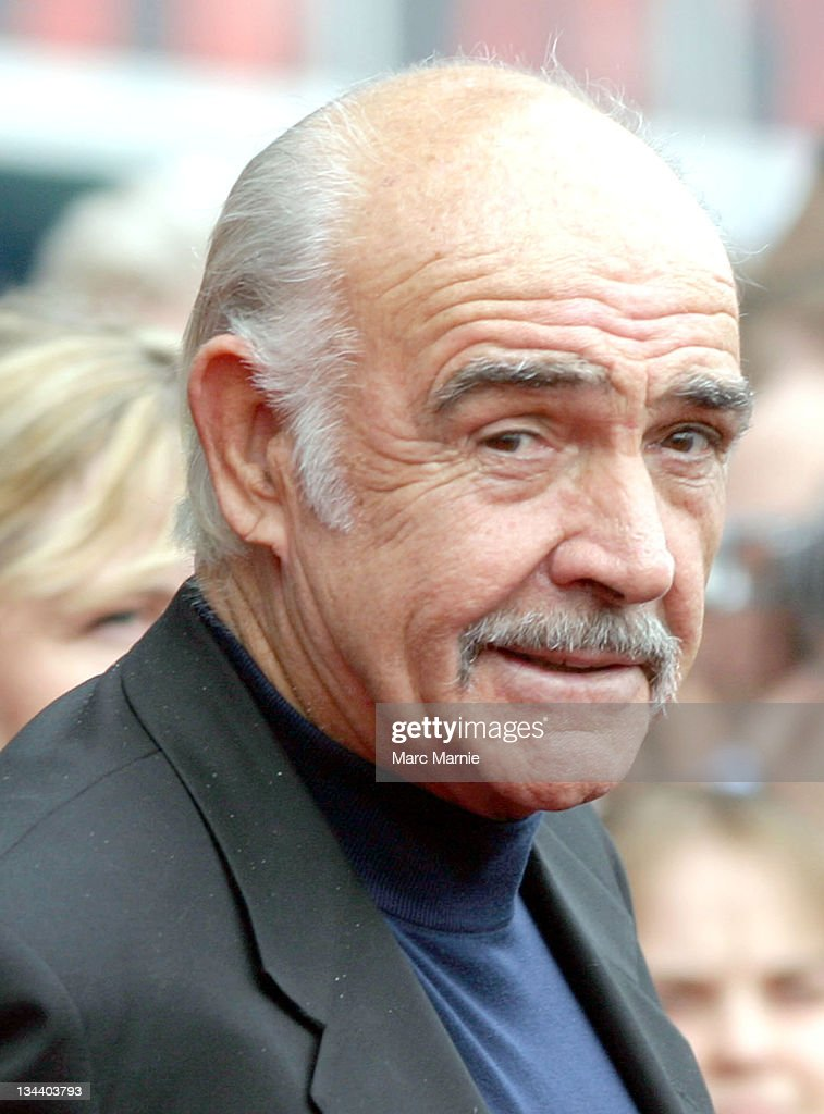 Sir Sean Connery durin...