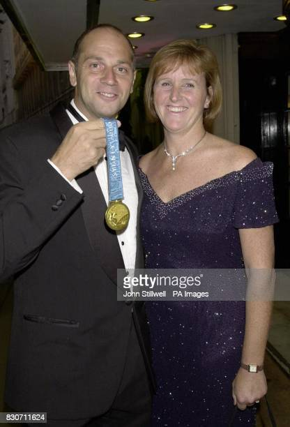 Sir Steve Redgrave with his wife Ann arrive at the Savoy Hotel in London The Redgraves were at the hotel to attend the innaugural British Olympians...