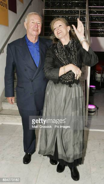 Sir Terence and Lady Vikki Conran at the Brit Insurance Design Awards at the Design Museum London