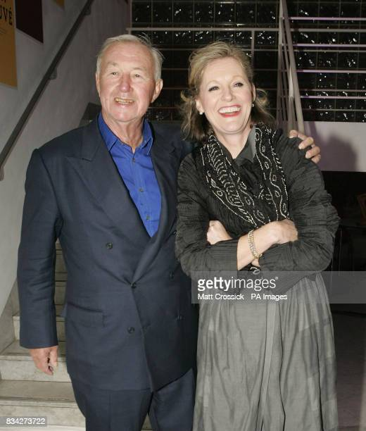 Sir Terence Conran and Lady Vikki Conran at the Brit Insurance Design Awards at the Design Museum London