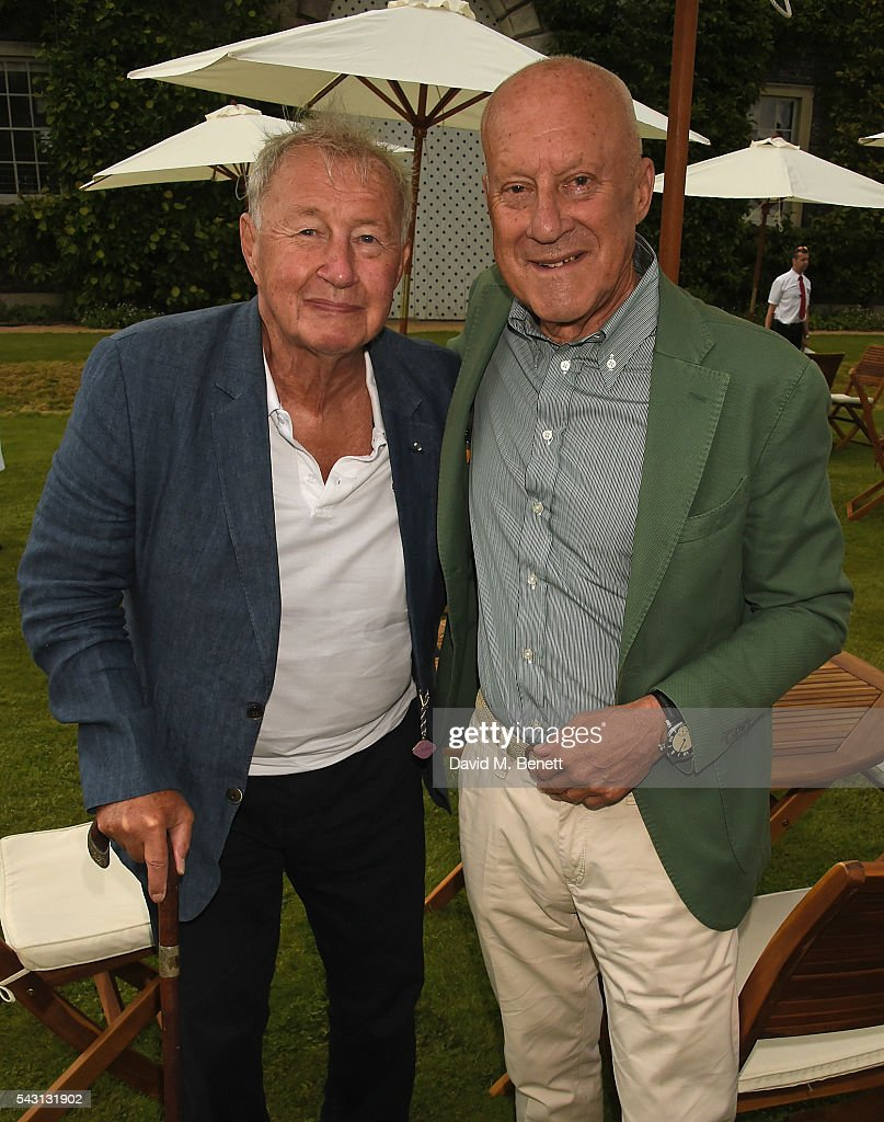 Sir <a gi-track='captionPersonalityLinkClicked' href=/galleries/search?phrase=Terence+Conran&family=editorial&specificpeople=241510 ng-click='$event.stopPropagation()'>Terence Conran</a> and Lord Norman Foster attend The Cartier Style et Luxe at the Goodwood Festival of Speed at Goodwood on June 26, 2016 in Chichester, England.