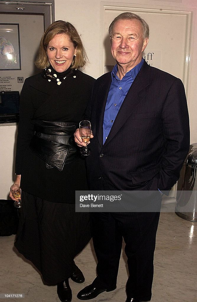 Sir Terence Conran & Wife Victoria, Opening Of The Manolo Blahnik Exhibition At The Design Museum, London