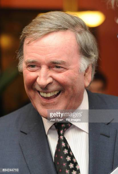 Sir Terry Wogan arrives for the 2008 Oldie of the Year Awards in association with Swan Hellenic held at Simpsons in theStrand central London