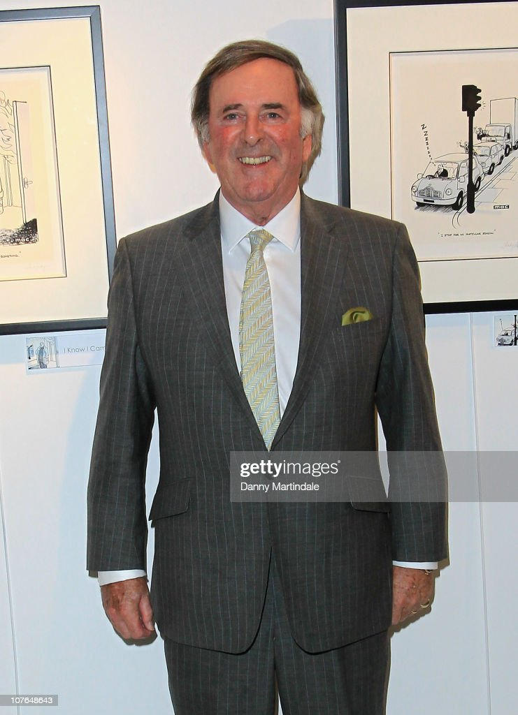 Terry Wogan Unveils New TOGS Collection At Harrods