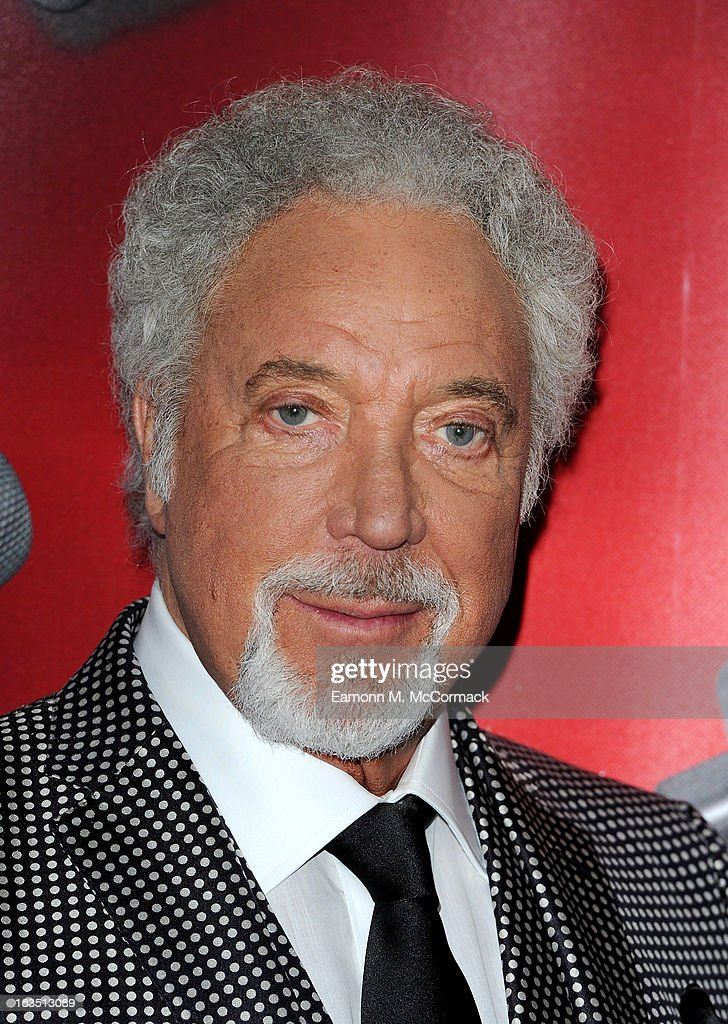 Sir Tom Jones attends a photocall to launch the second series of The Voice at Soho Hotel on March 11, 2013 in London, England.