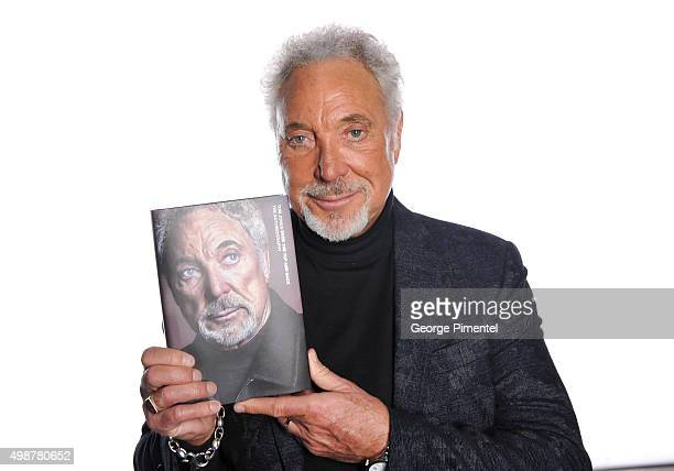 Sir Tom Jones promotes his new book 'Over The Top And Back The Autobiography' at The Opera House on November 25 2015 in Toronto Canada