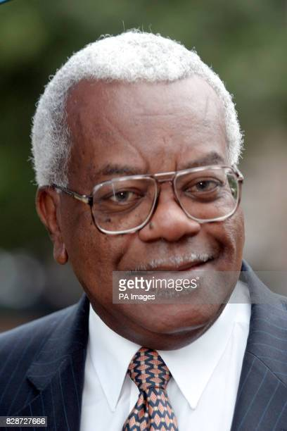 Sir Trevor McDonald in Abingdon Gardens Westminster London to mark the commencment of voting for the National Television Awards Sir Trevor McDonald...