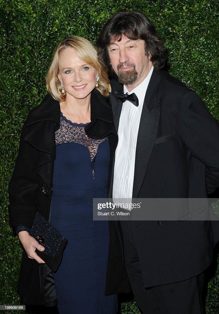 Sir Trevor Nunn (R) attends the 58th London Evening Standard Theatre Awards in association with Burberry on November 25, 2012 in London, England.