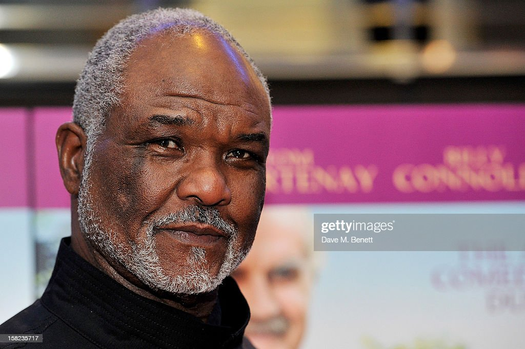 Sir Willard White attends a Gala Screening of 'Quartet' at Odeon West End on December 11, 2012 in London, England.