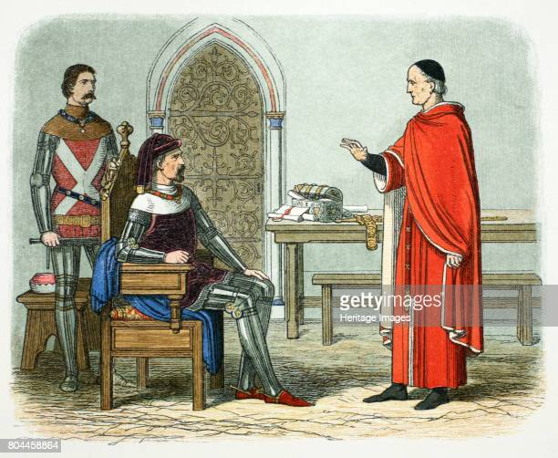 Sir William Gascoigne defies King Henry IV 1405 Gascoigne Chief Justice of England refusing to pass a sentence of death upon Lord Scrope Archbishop...
