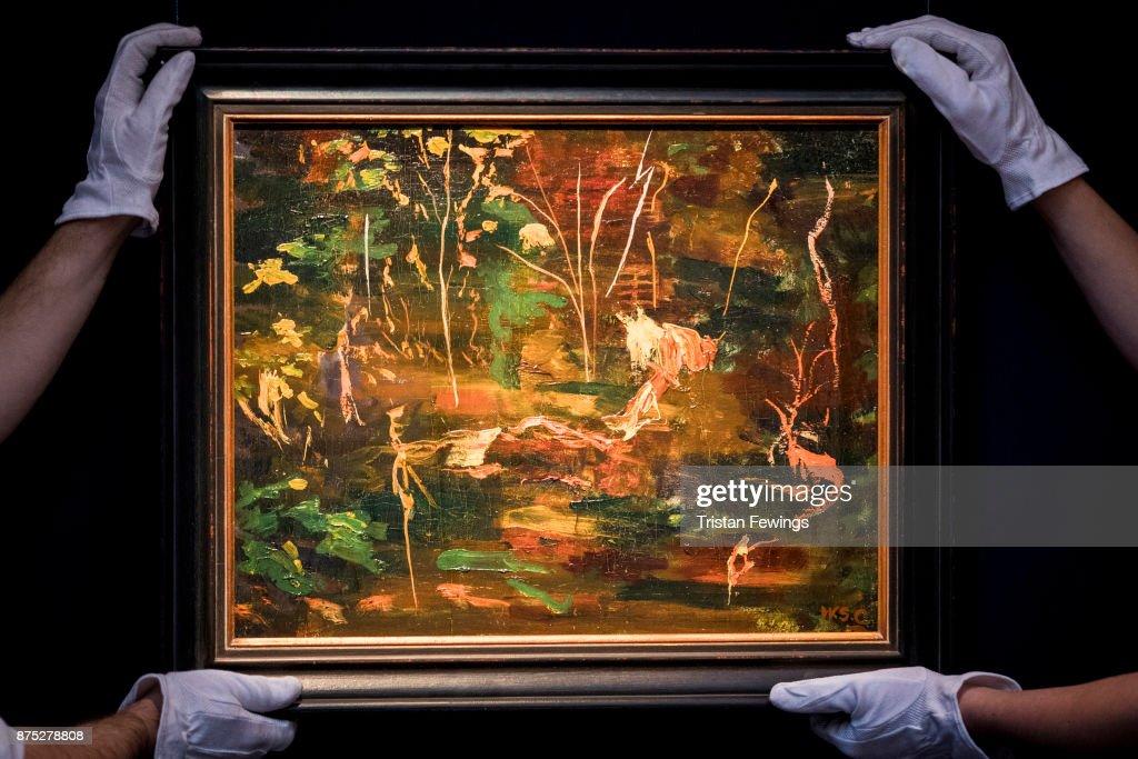 Sotheby's Modern & Post-War British Art Exhibition
