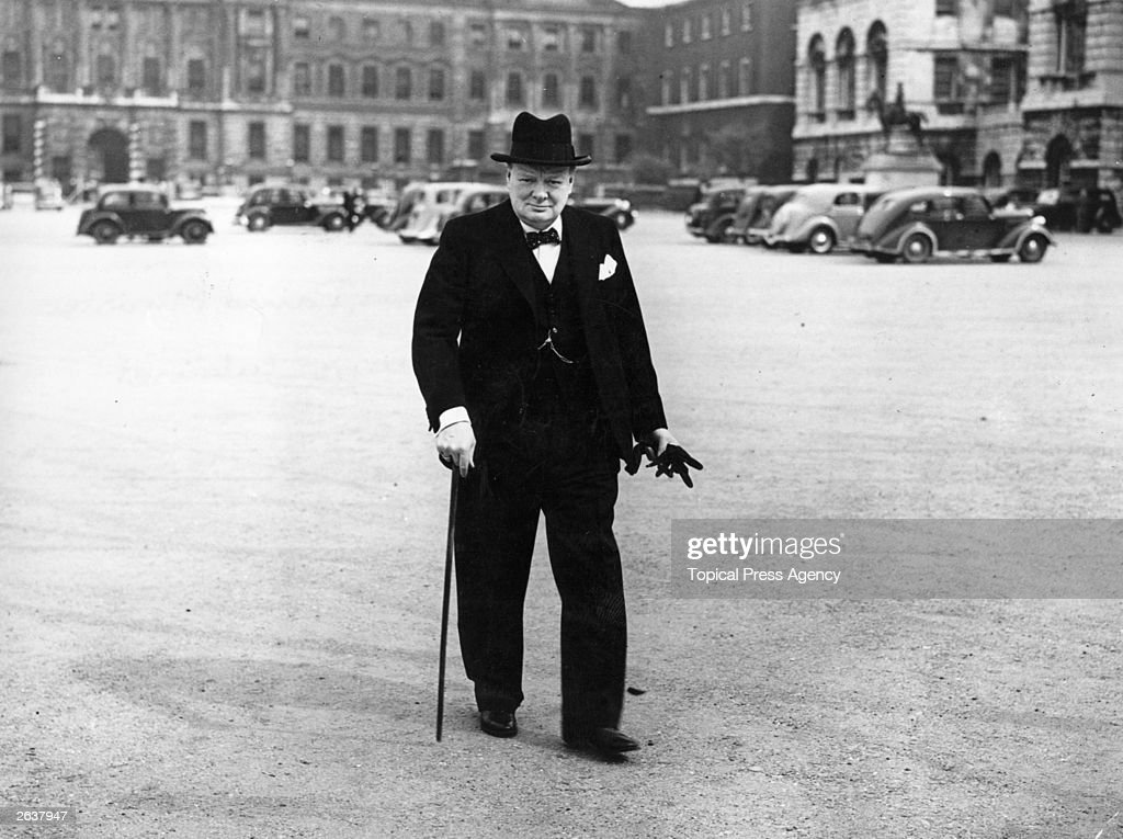 a biography of sir winston churchill the master british statesman British prime minister sir winston churchill (1874-1965) leaving no 10 downing  street.