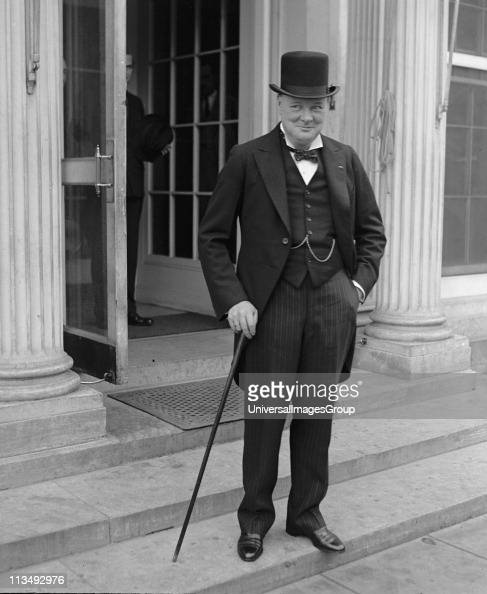 Sir Winston Leonard SpencerChurchill British statesman He served as Prime Minister 19401945 and again 19511955