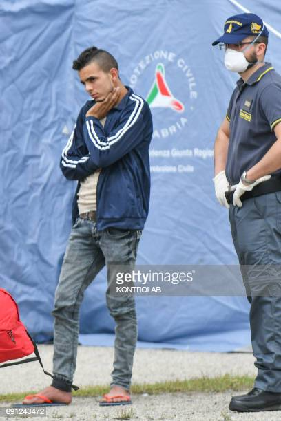 Siraj Alakari a 21yearold Libyan citizen was stopped at Corigliano during ship disembarkation Vos Hestia and arrested on 31 May 2017 following...