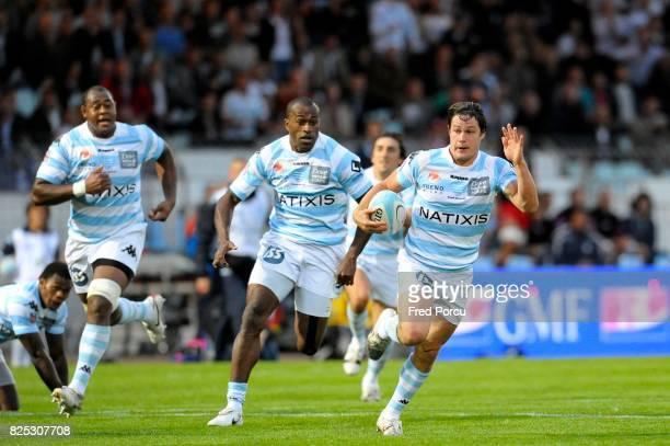 Sireli BOBO / Henry CHAVANCY Racing Metro 92 / Montpellier 1ere Journee du Top 14 Stade Yves du Manoir Colombes