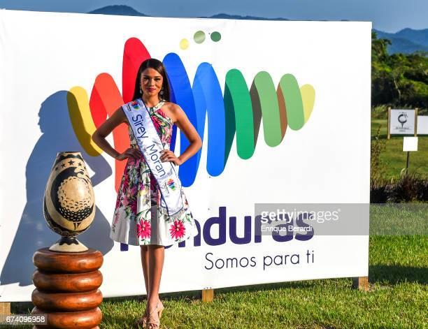 Sirey Moran Miss Honduras during the final round of the PGA TOUR Latinoamérica Honduras Open presented by Indura Golf Resort at Indura Golf Resort on...