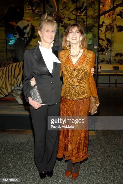 Siri Hustvedt and Norris Church Mailer attend 2010 PEN Literary Gala at American Museum of Natural History on April 27 2010 in New York City