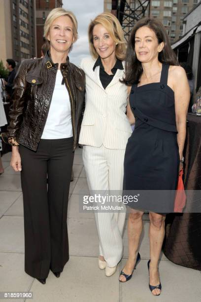 Siri Mortimer Amanda Burden and Shelley Wanger attend BILL PALEY Relaunches LA PALINA CIGARS at Empire Hotel on June 17 2010 in New York City