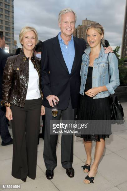 Siri Mortimer Tony Mortimer and Bree Mortimer attend BILL PALEY Relaunches LA PALINA CIGARS at Empire Hotel on June 17 2010 in New York City