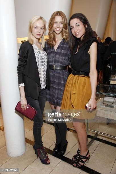 Siri Toller¯d Alana Zimmer and Elana Sishman attend JASON WU FILIPA FINO Host Cocktail Party At ILORI To Celebrate The 'MODO FOR JASON WU' 2010...