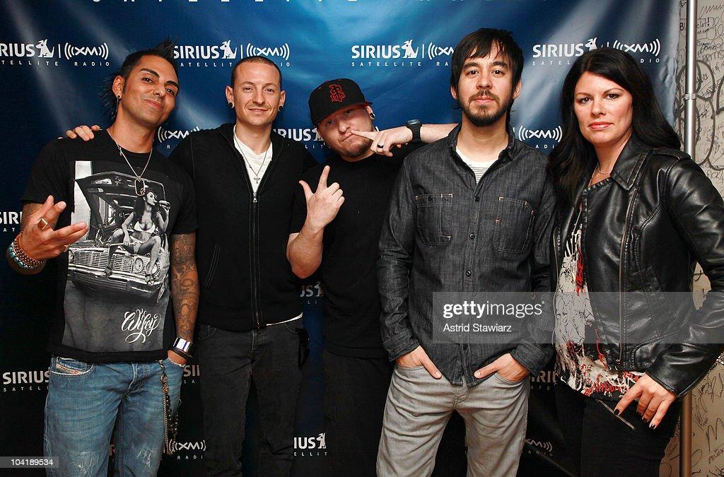 Linkin Park Visits Sirius XM Studio