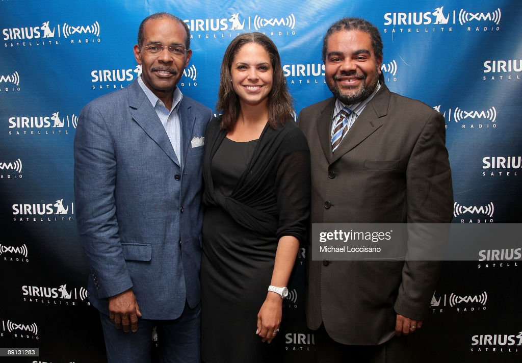Sirius XM host Joe Madison correspondent Soledad O'Brien Sirius XM host Mark Thompson take part in a Black in America 2 Roundtable moderated by...