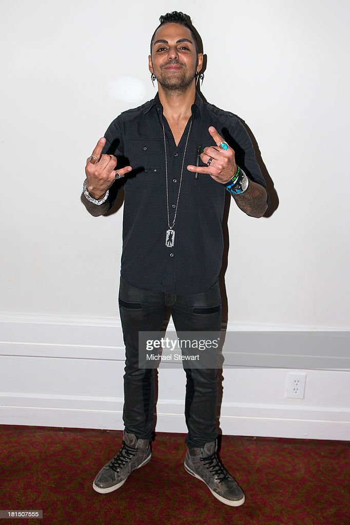 SiriusXM Director of Programming Jose Mangin attends Metallica Performs a private exclusive concert for SiriusXM listeners at The Apollo Theater on September 21, 2013 in New York City.