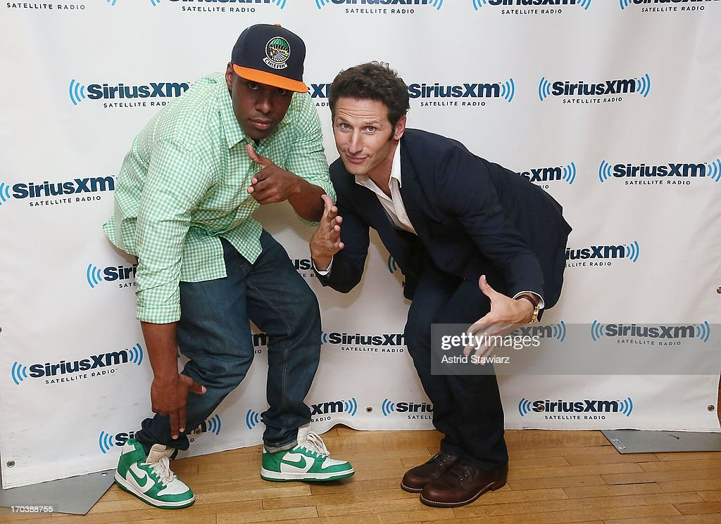 SiriusXM <a gi-track='captionPersonalityLinkClicked' href=/galleries/search?phrase=DJ+Whoo+Kid&family=editorial&specificpeople=4360604 ng-click='$event.stopPropagation()'>DJ Whoo Kid</a> and actor <a gi-track='captionPersonalityLinkClicked' href=/galleries/search?phrase=Mark+Feuerstein&family=editorial&specificpeople=799561 ng-click='$event.stopPropagation()'>Mark Feuerstein</a> visit the SiriusXM Studios on June 12, 2013 in New York City.