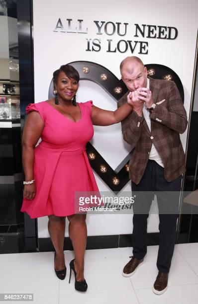 SiriusXM Host Bevy Smith and Kevin Harter attend A Radio Special Celebrating The Anniversary Of Andy Cohen's SiriusXM Channel Radio Andy at...