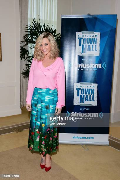 SiriusXM Host Jenny McCarthy attends SiriusXM's 'Town Hall' With the Cast of 'Transformers The Last Knight' Town Hall Hosted By SiriusXM's Jenny...