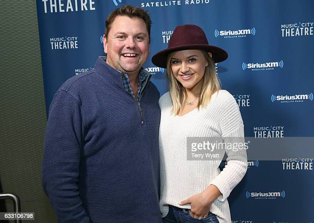 SiriusXM Host Storme Warren and Singersongwriter Kelsea Ballerini visit SiriusXM Studios on January 30 2017 in Nashville Tennessee