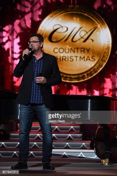 SiriusXM Host Storme Warren emcees during the CMA 2016 Country Christmas on November 8 2016 in Nashville Tennessee