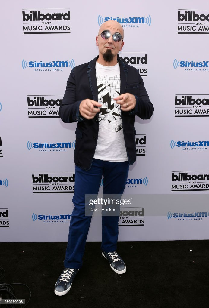 SiriusXM host Tony FlyÊposes at SiriusXM's 'Hits 1 in Hollywood' red carpet broadcast on SiriusXM's SiriusXM Hits 1 channel before the Billboard Music Awards at the T-Mobile Arena on May 21, 2017 in Las Vegas, Nevada.